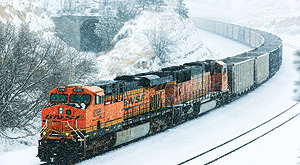 BNSF advises customers of stepped-up winter preparations