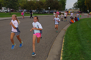 Kids' Mini-Marathon Draws 1,000 Young Runners in Bismarck