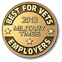 Best for Vets Employers for 2013
