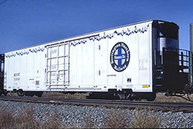 Refrigerated Boxcar
