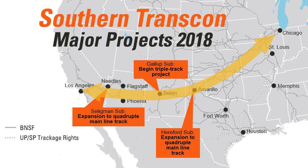 Southern Transcon | Rail Talk | BNSF