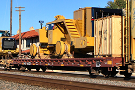 Machinery Flatcar