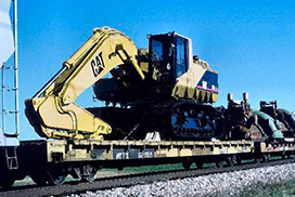 Machinery Flatcar 60ft